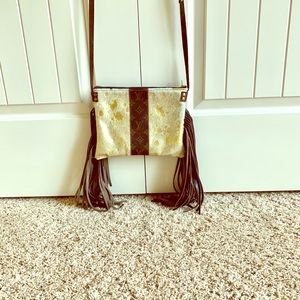Handbags - *****SOLD*****Upcycled Louis Vuitton crossbody!!